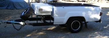 Truck bed utility trailer $Sold NorCal