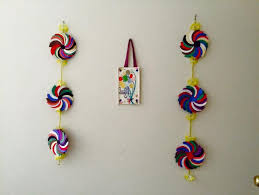 Simple Craft Ideas Crafts Flower Wall Hangings Kid Paper Colours Carnivals Tapestries