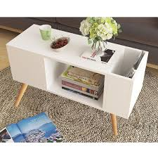 Parisian White Four Drawer Coffee Table Willow And Blossom