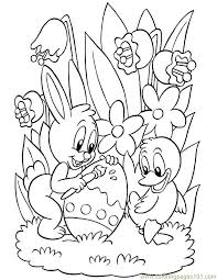 Easter Free Coloring Pages Printable 20 Easy To Color Sheets