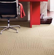 a tisket a tasket carpet tiles in almond by flor for the home