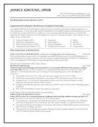 sle human resources resumes resume exle exles and