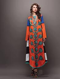 6 Orange Pakistani Style Salwar Suits