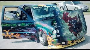 100 Custom Truck Paint Designs S10 V8 Airbrushed Custom Spawn Paint Jobair Bagged Chevy Truck