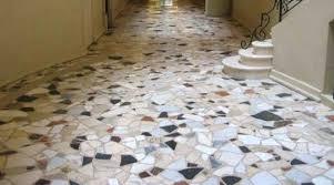 Attractive Terrazzo Flooring For Floor Decor Ideas With Tile And Installation Epoxy Terrazz