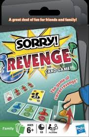 Sorry Revenge Board Game Card Front Image Cover
