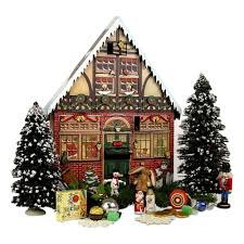 Griswold Christmas Tree Through Roof by Amazon Com Byers U0027 Choice Christmas House Advent Calendar Home