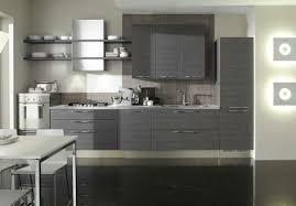 deco cuisine grise et idee decoration cuisine grise en photo