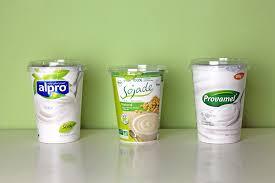 sojajoghurt im vergleich alpro provamel und sojade