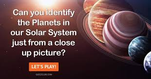 Can You Identify The Planets In Our