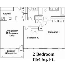 2 bedroom apartment for rent or lease condominium style building