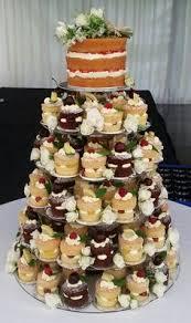 Mini Victoria Sponge Wedding Cake