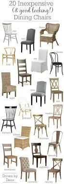 15 Inexpensive Dining Chairs (That Don't Look Cheap!) | Blogger Home ... Affordable Ding Chairs The Twisted Horn Home Ding Room In Buy Federico Velvet Chair Decorelo Wwwderelocouk Fniture Unbelievable Cool Seagrass With Entrancing Wooden Online India At Cheap Cheap Australia Cushion Outdoor Patio Home Depot Best Kitchen For Oak Antique White Table Interesting 70 Off Restoration Hdware Cream Discount Room Amazoncom Christopher Knight 299537 Hayden Fabric Colibroxset Of 4 Pu Leather Steel Frame Chairs Melbourne 100 Products Graysonline