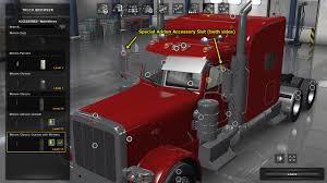 PETERBILT 389 TRUCK ACCESSORIES PACK 1.29 - ATS Mod | American Truck ... Peterbilt Bumper 579 Set Back Axle Elite Truck Accsories Extended Hood Front Grill For 379 19932007 Post Anything From Anywhere Customize Everything And Find Interior 389 Pack Ats Mods American Truck Simulator Exterior Red Skin Mod Simulator Custom Big Rigs Trailers Trucks Semi Parts 18 Wheelers Truckidcom 2017 72 Sleeper Manual Reefer Outlaw Customs