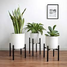 1pc eisen blumentopf regal innen blume stehen verstellbare blume topf rack pflanzen bonsai rack für home wohnzimmer schwarz