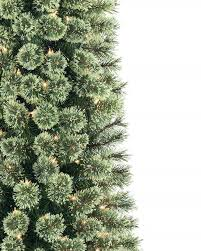 Artificial Douglas Fir Christmas Tree Unlit by Cozy Cashmere Pencil Christmas Tree Treetopia