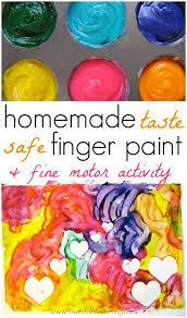 Bathtub Fingerpaint Soap Recipe by Homemade Finger Paint Recipe With Fine Motor Activity Motor
