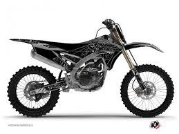 yamaha 250 yzf kit déco moto cross zombies yamaha 250 yzf noir