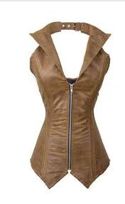 cheap leather zipper corset find leather zipper corset deals on