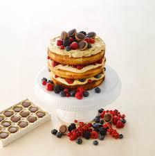 toffifee rezept für cake mit karamellcreme und früchten