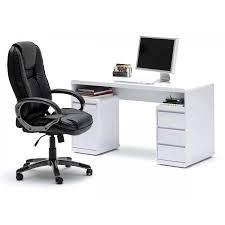bureau blanc laqu design bureau design blanc laqu amovible max simple bureau pas cher ikea