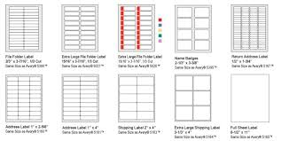 Avery 2 X 3 Labels Fresh Pictures Free Template 5366 28 Mailing