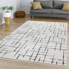 esszimmer teppich design abstrakt geometrisch
