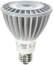 sylvania 8 watt par20 led 120v 450 lumen e26 base dimmable flood
