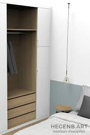 chambre avec cote d azur design chambre et dressing contemporain interieur chene by