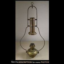 Aladdin Mantle Lamp Model 23 by Antique Aladdin Lamp Kerosene Oil Hanging Fixture Model 6 115