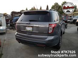 100 L And M Truck Parts Used 2013 Ford Explorer XT 35 4x4 Subway Inc
