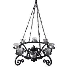 Allen And Roth Outdoor Ceiling Fans by Shop Allen Roth 19 In X 19 In Black Metal Votive Candle Outdoor