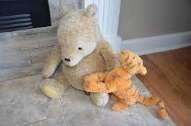 Winnie The Pooh Nursery Bedding by Winnie The Pooh And Tigger Stuffed Plush Toy Nursery Set