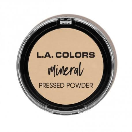 L. a. Colors Mineral Pressed Powder - Light Ivory, 7.5g