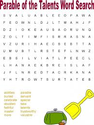 Pumpkin Patch Parable Printable by Bible Word Search Printables Word Search Printables And Parable