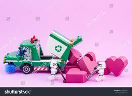100 Lego Recycling Truck Nonthaburi Thailand January 09 2017 Stock Photo Edit
