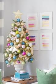 Potted Christmas Trees For Sale by 27 Rainbow Christmas Tree Decoration Ideas U2013 Christmas Celebrations