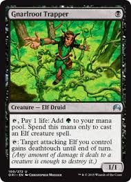 the origins of an elf deck magic the gathering
