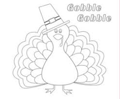 Parents Thanksgiving Coloring Page