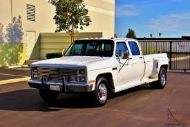 1987 GMC Sierra 3500 Crew Cab Dually-1 Owner-Clean-Certified-