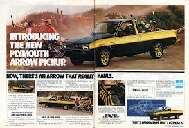 1979 Plymouth Arrow Pickup Truck Advertisement Hot Rod December 1978 ...