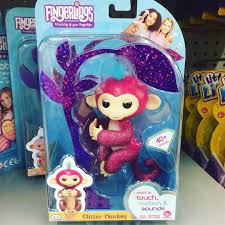 I Found The Glitter Fingerling Monkey At Walmart Fingerlings Toys Followme Collectibles Pinkglitter