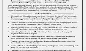 Gallery For Restaurant Supervisor Resume Samples
