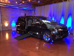 VMI Introduces Industrys First Chrysler Pacifica Wheelchair Accessible Minivan