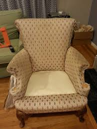 DIY Upholstering Armchairs   A Little Something About Everything How To Reupholster An Armchair Home Interiror And Exteriro To An Arm Chair Hgtv Reupholster A Wingback Chair Diy Projectaholic Eliza Claret Red Tufted Turned Wood Seat Cushions Upholster Caned Back Wwwpneumataddictcom Upholstering Wing Upholstery Tips All Things Thrifty Living Room Chairs Slipper World Market Youtube Buy The Hay About A Aac23 Upholstered With Wooden Antique Drawing Easy Victorian Amazoncom Modway Empress Midcentury Modern Fabric
