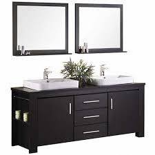 Double Sink Vanity Top by Design Element Washington 72 In W X 22 In D Vanity In Espresso