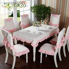 Beautiful Rustic Cloth Dining Table Chair Cover Set Tablecloth Coffee Round Powder In Tablecloths From Home Garden On