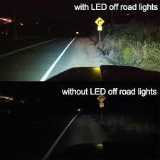 100 Work Lights For Trucks TURBOSII DOT Approvde 10PCS 4 Inch Led Light Bar 27w Driving