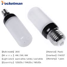 e14 e27 smd2835 led bulb adjustable color temperature corn light