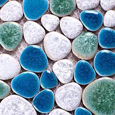 aliexpress buy porcelain sky blue mixed lake green white